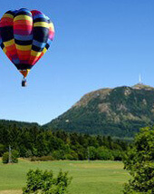 Auvergne et Volcan - Vol en montgolfiere