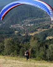 Auvergne Puy de Dome parapente