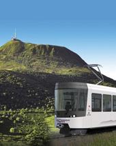 Volcan Auvergne  train Panoramique des Domes