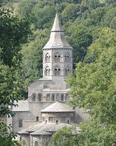 Basilique d Orcival en Auvergne